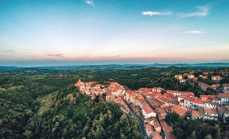 Scansano? das Dorf von Morellino -