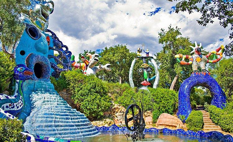Der Tarot-Garten ❤️ ein Freilichtmuseum - Der Tarot-Garten ist ein Freilichtmuseum